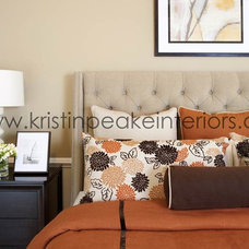 Contemporary Bedroom by Kristin Peake Interiors, LLC