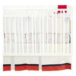 Out To Sea Boy Crib Bedding - Out To Sea Boy Crib Bedding 2 piece set