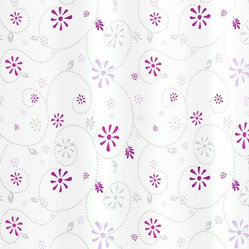 Bijou Fabric Shower Curtain