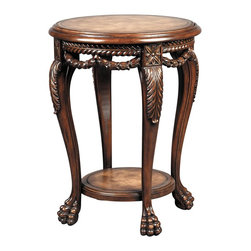 Ambella Home - New Ambella Home Accent Table Leather Paw - Product Details