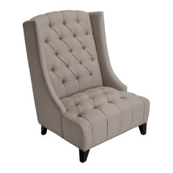 Brubeck Wingback Accent Chair