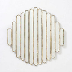 modern mirrors by Anthropologie