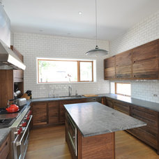 Contemporary Kitchen Cabinets by FRICANO CONSTRUCTION CO