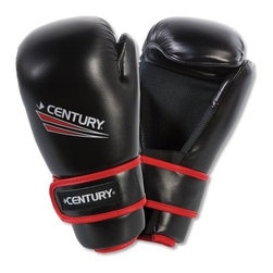 Century Drive Cross-Training Gloves - The Century Drive Cross-Training Gloves provides an all-purpose fighting mitt that's ideal for light training and sparring sessions to perfect form and power. Each glove is made from injection-molded foam for padding and shock-absorption, boasting a soft polyurethane cover. An ergonomic design keeps your hands in a comfortable, combat-ready stance. Velcro straps secure the gloves to your wrists. Small, medium, large, and x-large size pairs are available.About Century LLCCentury's core belief is that martial arts can profoundly impact people's lives, and they want everyone to reap the lifetime benefits. In 1976, Century began by creating martial arts products, and has grown to become the largest supplier of martial arts products in the world. When the company moved to Midwest City, Oklahoma, in 1982, the original building provided 50,000 square feet to help the founders achieve their mission. Since then, the company has expanded to a 650,000 square foot facility, and also broadened its product offering to include yoga, boxing, MMA gear, and physical fitness equipment.