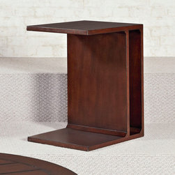 Hammary - Hammary Tacoma Flipping End Table in Rustic Brown - - 049-917.  Product features: Table Can Be Flipped on Side for Optional Look. Product includes: End Table (1). Flipping End Table in Rustic Brown belongs to Tacoma Collection by Hammary.