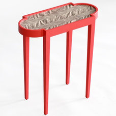 eclectic side tables and accent tables by Zinc Door