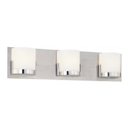 George Kovacs - Convex 3 Light Bath Bar - Convex 3 Light Bath Bar