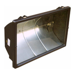 Morris - 1500 Watt Quartz Floodlight, 240V - A super-bright 1500 Watt Light for large outdoor areas.
