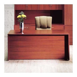 """High Point Furniture - Hyperwork 72"""" W Double Pedestal Office Credenza with Drawers - Hyperwork is an extensive collection of 300 plus modular components offering high quality and high-value casegoods for all areas of your fast-paced business environment. Solutions include freestanding units, L and U units, reception stations, conference furnishings and storage/filing options. You can also create shared station and multiple station configurations for the most space-efficient, cost-efficient office layout. All offer superior quality construction, multiple features and contemporary design options. Features: -Box/file pedestal.-3/4'' thick core with thermally fused laminate.-Pre-installed, black PROfile filing hardware.-Individual locking pedestals.-Tops are 1'' thick with a thermally fused laminate with proper backing.-Full 3 mm PVC AdvantEdge banding as required.-Drawer fronts have a 0.75'' thick core with thermally fused laminate on both sides.-Drawer sides are 1/2'' vinyl wrap with oak grain pattern.-Optional center drawer available.-Distressed: No.-Collection: Hyperwork.Dimensions: -Overall dimensions: 29'' H x 72'' W x 36'' D.-Drawer bottoms are 1/8'' hardboard with oak grain pattern.-Overall Product Weight: 289 lbs.."""