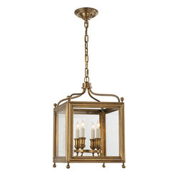Visual Comfort & Co. - Visual Comfort & Co. SP5001HAB Studio Greggory 4-Light Flush Mounts - This 4 light Ceiling Lantern from the Studio Greggory collection by Visual Comfort will enhance your home with a perfect mix of form and function. The features include a hand-rubbed antique brass finish applied by experts. This item qualifies for free shipping!