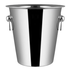 Cuisinox - Cuisinox Wine / Champagne Bucket - This champagne bucket is an ideal way to keep wine and champagne cold for hours. With its durability and timeless style, this champagne bucket is ideal for restaurants or in your home. Fits into our stand (STD33) or can be placed on your table.