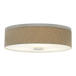 LBL Lighting - LBL Lighting Fiona 18 Medium (E26) 3 Light Flush Mount Ceiling Fixture - Features: