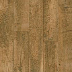 Armstrong Laminate Architectural Remnants Sawmark Oak Natural - The look of reclaimed wood flooring takes us places. To a cozy cabin. To a refurbished urban loft. To a rustic cottage.