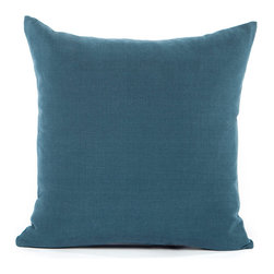 """Blooming Home Decor - Solid Navy Blue Accent / Throw Pillow Cover - (Available in 16""""x16"""", 20""""x20"""", 24""""x24"""", 26""""x26"""", 12""""x20"""", 20""""x54"""")"""