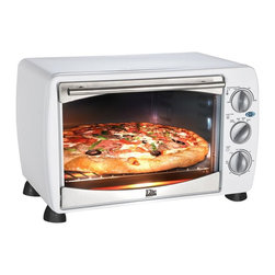Pick Five Imports - Elite Gourmet ETO-180W 6 Slice Toaster Oven/Broiler Multicolor - ETO-180W - Shop for Toaster Ovens from Hayneedle.com! Save energy and time when preparing your food with the Elite Gourmet ETO-180W 6 Slice Toaster Oven/Broiler. Able to toast bake broil and keep your food warm this toaster oven is perfect for reheating your favorite meals or cooking small meals without heating up your entire kitchen by turning on the stove. Its .64 cubit foot capacity can hold up to six slices of toast saving you time while cooking. The thermostat ranges from 150 degrees fahrenheit to 450 degrees fahrenheit while the 60 minute timer shuts off automatically. Need to cook your food a little longer? Not a problem! This toaster oven also features a unique stay-on feature for those meals that require extra cooking time. Its stainless steel door handle and frame as well as its tempered glass adds an elegant look to this toaster oven making it a beautiful addition to your kitchen. Additional Features Blue LED power indicator light Stainless steel door handle and frame Features a tempered glass door Ready bell signal alerts when timer goes off Holds up to 6 pieces of toast About Maxi-MaticMaxi-Matic U.S.A has been an established provider of small kitchen appliances and other various household items for more than 25 years. From exclusively marketing the Pillsbury line to developing its own range of brands Maxi-Matic features products that are carried by all major U.S. retailers today. Committed to offering the best quality and pricing in today's market Maxi-Matic strives to provide the best consumer products under world-class brands such as Elite (Cuisine) by Maxi-Matic Elite (Gourmet) by Maxi-Matic Elite (Platinum) by Maxi-Matic Elite Home by Maxi-Matic Maxi-Sonic and Mr. Freeze.