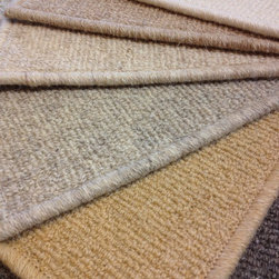 Masland Woven Road Undyed Natual Wool Carpet - Natural un-dyed British wool carpet from Masland.  Offered in six color options.  Available at Hemphill's Rugs & Carpets.