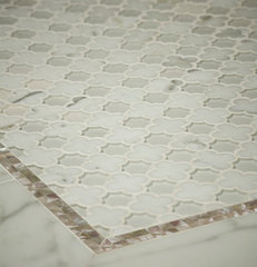 traditional bathroom tile by Artistic Tile