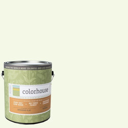 Inspired Flat Interior Paint, Imagine .03, Gallon - Colorhouse paints are zero VOC, low-odor, Green Wise Gold certified and have superior coverage and durability. Our artist-crafted colors are designed to be easy backdrops for living. Colorhouse paints are 100% acrylic with no VOCs (volatile organic compounds), no toxic fumes/HAPs-free, no reproductive toxins, and no chemical solvents.