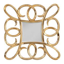 Bassett Mirror - Bassett Mirror Remarco Wall Mirror M3562BEC - Bassett Mirror Remarco Wall Mirror M3562BEC