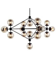 modern chandeliers by The Future Perfect