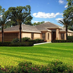 House Plan 55870 at FamilyHomePlans.com -
