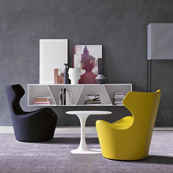 Seating - Piccola Papilio Swivel Armchair