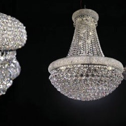 Barbara Chandelier By Modiss Lighting - Barbara by Modiss is a large dramatic crystal chandelier.