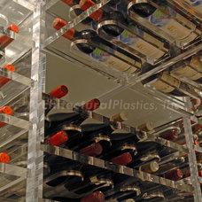 Contemporary Wine Cellar by Architectural Plastics, Inc.