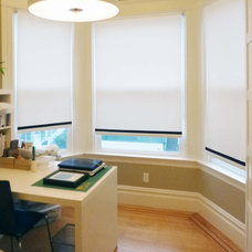 Contemporary Roller Blinds by Stitch Custom Furnishings