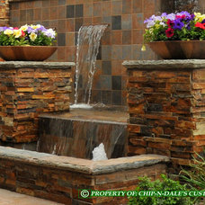 Eclectic Landscape by CHIP-N-DALE'S CUSTOM LANDSCAPING