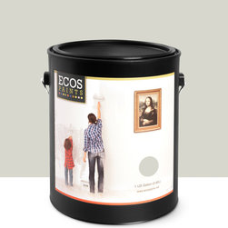 Imperial Paints - Eggshell Wall Paint, Gallon Can, Plaster - Overview: