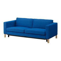 IKEA of Sweden - KARLSTAD Cover-sofabed - Cover-sofabed, Korndal medium blue