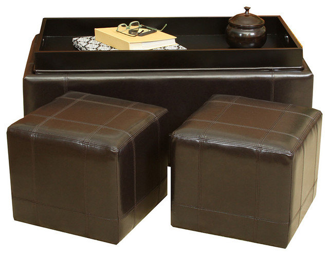 Traditional Ottomans And Cubes by Great Deal Furniture