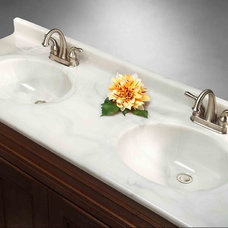 Traditional Bathroom Countertops by Imperial Marble Corporation