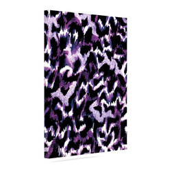 """Kess InHouse - Ebi Emporium """"Wild at Heart - Purple"""" Lavender Wrapped Art Canvas (12"""" x 10"""") - Bring your outdoor patio to life with this artistic outdoor canvas wrap featuring gorgeous artwork by KESS InHouse. These canvases are not only easy to hang and remove but also are the perfect addition to your patio collection. These canvases are stretched around a wooden frame and are built to withstand the elements and still look artistically fabulous. Decorating your patio and walls with these prints will add the splash of art and color that is needed to bring your patio collection together! With so many size options and artwork to choose from, there is no way to go wrong with these KESS Canvas Wraps!"""