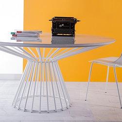 Modloft - Carlisle Dining Table | Modloft - Design by Marcelo Ligieri.