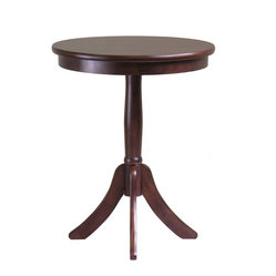 Belmont End Table with Pedestal Leg