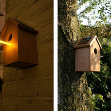Traditional Birdhouses by uncrate.com