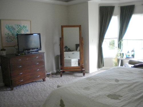 bedroom arrangement decor
