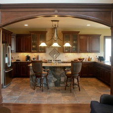 Contemporary  by MSD Custom Homes & Remodeling