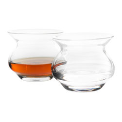 Arsilica, Inc. - The NEAT Glass - NEAT-ultimate spirits glass, Set of 6 - Until now, the sole purpose of a spirits drinking vessel has been to deliver your spirit from its container to your palate. At Arsilica Inc., we discovered a new science of engineering glassware to control and dissipate ethanol vapors away from the nose unmasking and revealing hidden, subtle flavor profiles and aromas.