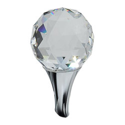 Brizo - Brizo RP47958PC RSVP Polished Chrome Lavatory Crystal Finial - The Brizo RP47958PC is a lavatory crystal finial from Brizo's R.S.V.P. design suite with contemporary, minimalist features, and comes in a Polished Chrome finish.