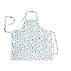 Working Class Studio - Savannah Paisley Collection - Magnolia - Apron - Strap on your Southern charm with this fresh floral apron swirling with paisley-petaled magnolia blossoms. Made from washable cotton twill with three practical front pockets, it knows how to get down to business in the kitchen and look fair and cheerful doing it.