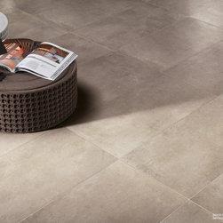 Urban Concrete - Nut Porcelain Tile - Flaviker