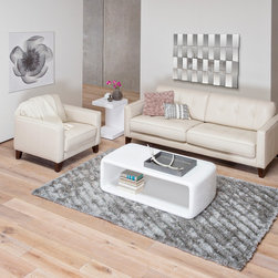 Gregata Leather Sofa - Gregata Leather Sofa & Chair