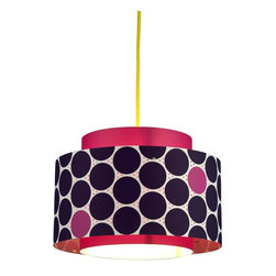 Control Brand - The Venlo Berry - The Venlo Berry combines classic with innovative design. The lampshade consists of two printed high-tech foils, stuck together to different sized cylinders. Star-shaped Metal holders keep the shades in form from the inside and at a safe distance from the lighting unit. Ceiling power cord is not included.