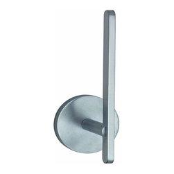 Smedbo - Smedbo Loft Spare Roll Holder, Brushed Chrome - Smedbo Loft Spare Roll Holder, Brushed Chrome