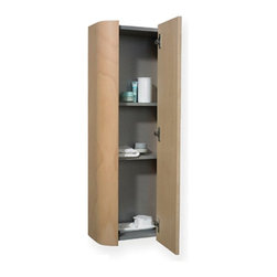 Whitehaus - Whitehaus Collection Aeri 15W x 39.25H in. Vertical Wall Mount Bathroom Storage - Shop for Bathroom Cabinets from Hayneedle.com! A beautiful addition to any contemporary bathroom the Whitehaus Collection Aeri 15W x 39.25H in. Vertical Wall Mount Bathroom Storage Cabinet WHAEMEB04 features a durable wood construction. It has a convenient surface-mount design and three shelves to provide plenty of storage.About Alfi Trade Inc. A place where beauty quality and service meet at last. Alfi Trade Inc. is a Los Angeles California company that recently merged with Whitehaus Collection in West Haven Connecticut to be their exclusive West Coast distribution center. Whitehaus Collection products transform the most essential rooms in the home: the kitchen and bath into reflections of the homeowners personal style. For over 10 years Whitehaus Collection has been providing people with high-end decorative plumbing fixtures that are beautiful and stand the test of time.