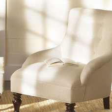 Contemporary Accent Chairs by Pottery Barn