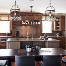 Eclectic Kitchen by Kristin Petro Interiors, Inc.
